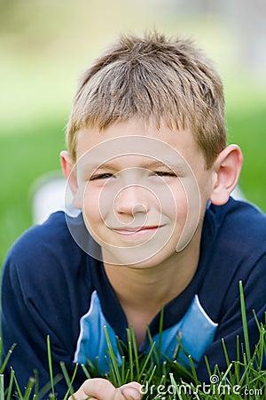 Free Young Boy Smiling Stock Photos - 5666883