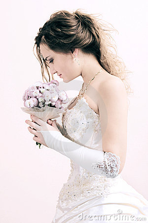 Free Young Bride Royalty Free Stock Photos - 3527298