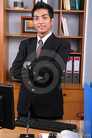Young business executive