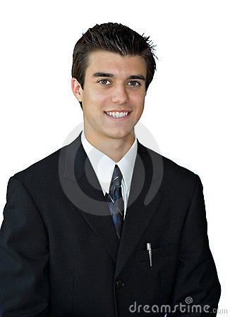 Free Young Business Man Stock Photography - 1812192