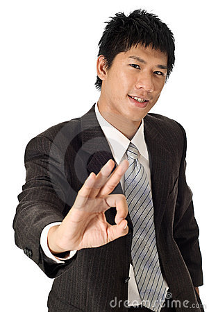 Young Businessman Stock Image - Image: 15466801