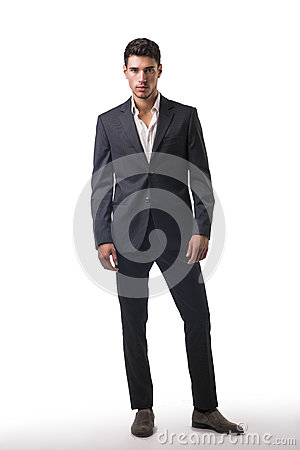 Free Young Businessman Confidently Posing  Royalty Free Stock Images - 60939509