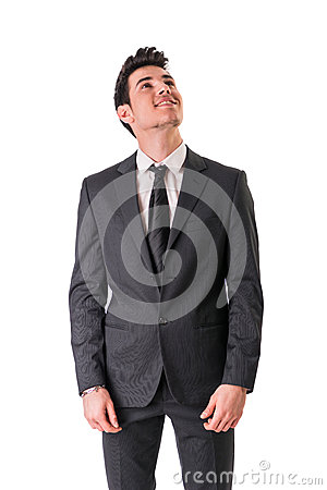 Free Young Businessman Confidently Posing Isolated On Royalty Free Stock Images - 53618829