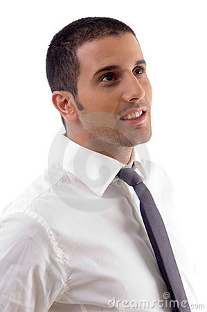 Free Young Businessman Posing Stock Image - 7083211