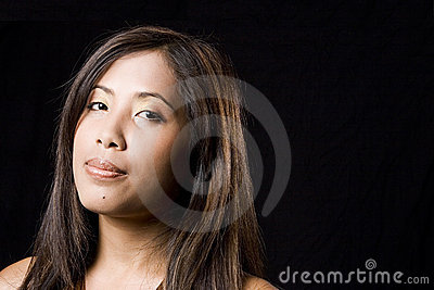 Young Cambodian Woman