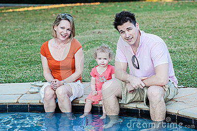 Child Parents Pool Safety