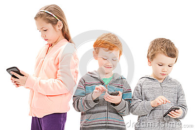 Young children using social media