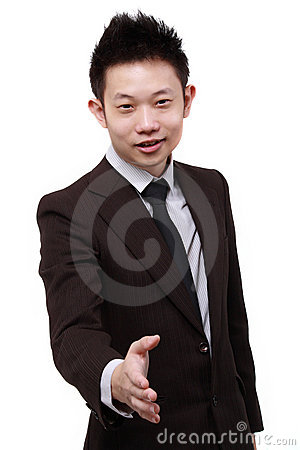 Young Chinese Business Man