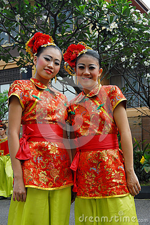 Young chinese teens Editorial Stock Photo