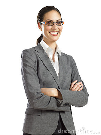 Free Young Confident Business Woman 1 Stock Images - 16807304