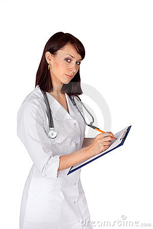 Young Confident Female Doctor
