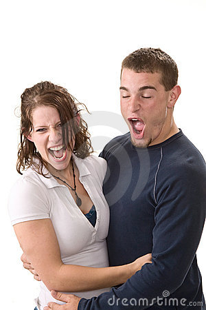 Free Young Couple Being Silly Stock Photos - 17307143