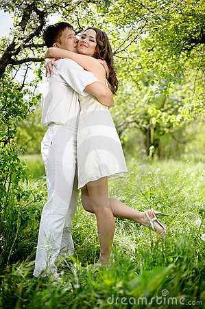Free Young Couple In Love Stock Photography - 19544792