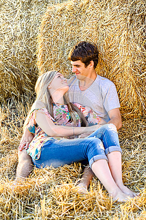 Free Young Couple In Love Outdoor. Stock Photos - 42461293