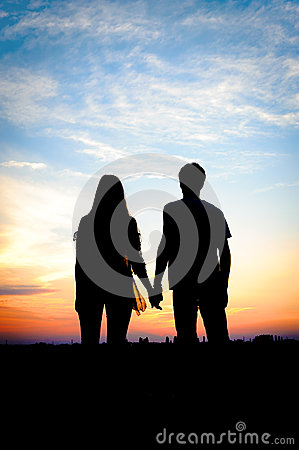 Free Young Couple In Love Outdoor. Royalty Free Stock Image - 42461456