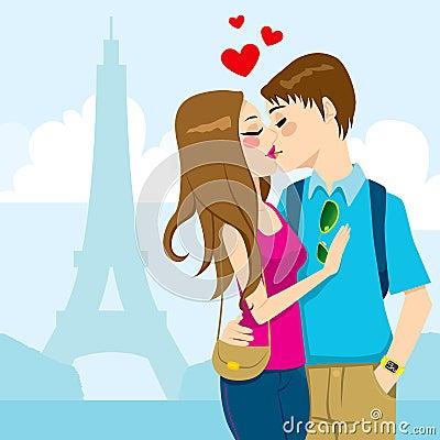 Paris Love Kiss