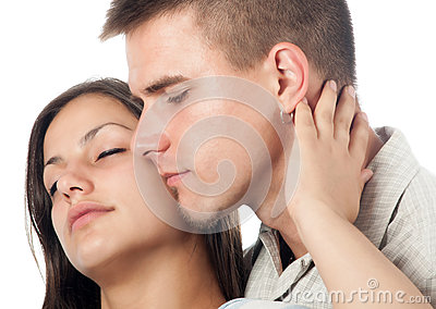 Young couple in love
