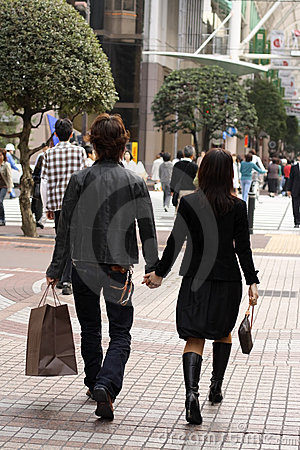 Free Young Couple Shopping Royalty Free Stock Images - 1452459