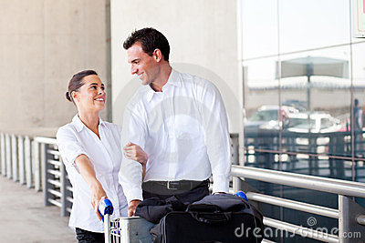 Young couple travel