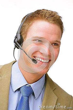 Young Customer Service Representative