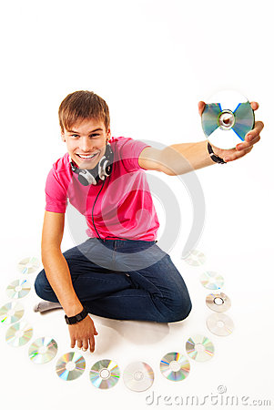 Young disk jockey