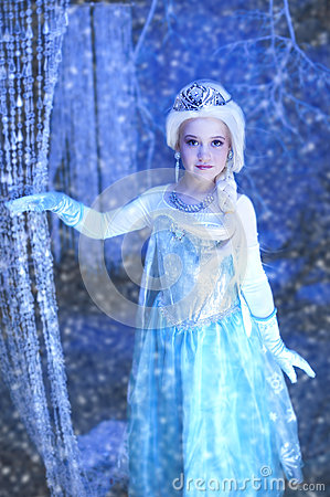 Free Young Disney Frozen Princess Stock Images - 41656734