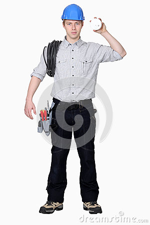 Young electrician