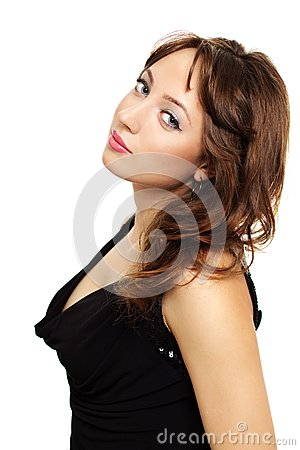 Young elegance woman