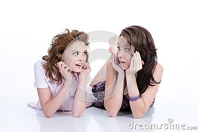 Young Emotional Women
