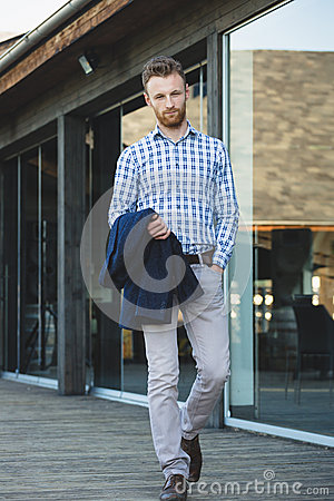 Free Young Fashionable Man Royalty Free Stock Image - 40736346