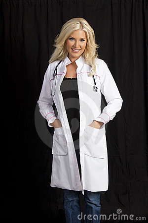 Young Female Hospital Doctor