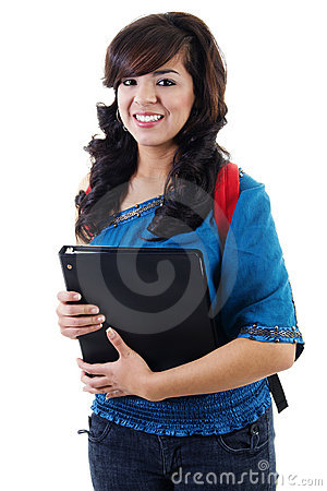 Young female student