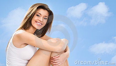 Young Fitness Woman Stock Image - Image: 21705961