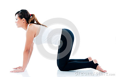 Young Fitness Woman Exercise