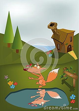 Free Young Fox And Ladybird Adventures Stock Photos - 15662383