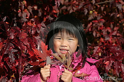 Young Girl Autumn