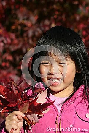 Young Girl Autumn
