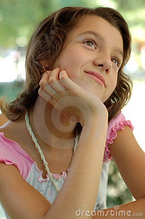 Free Young Girl Day Dreaming Stock Photos - 2852163