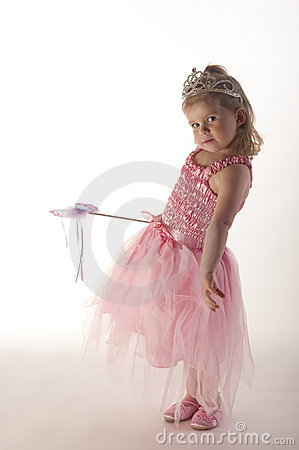 Free Young Girl Dressed In Fairy Princess Costume Royalty Free Stock Photography - 11641247