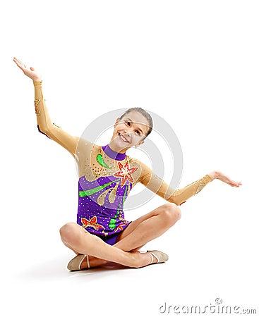 Young Girl Gymnast