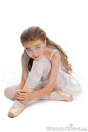 young girl touching her panties