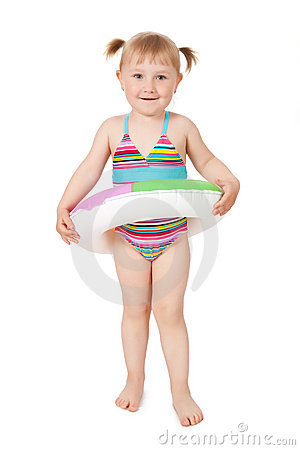 Free Young Girl In Swimsuits Stock Photos - 14380133
