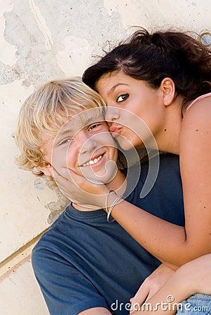 girl n boy kiss virgin