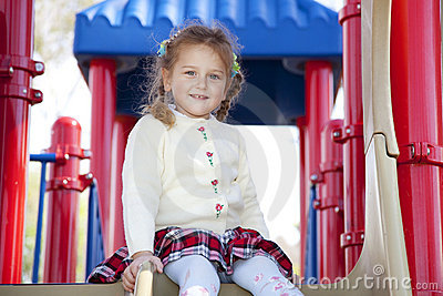 Young girl in the park
