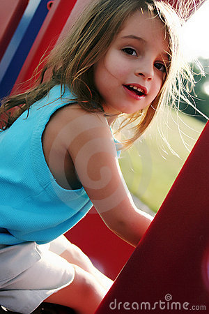 Young girl at Park