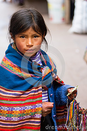 Free Young Girl Selling Crafts Royalty Free Stock Photo - 79766885