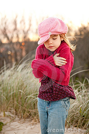 Image Gallery shivering girl
