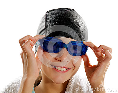 Young Girl Swimmer