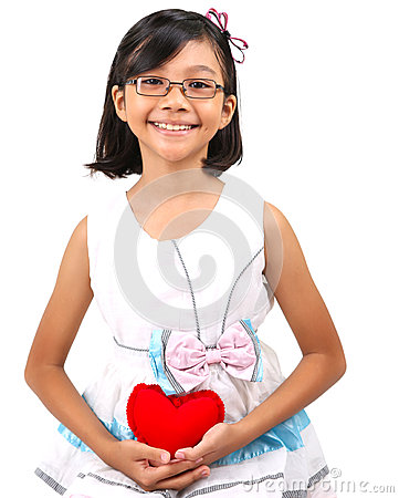 Free Young Girl Valentine II Royalty Free Stock Photos - 36141458