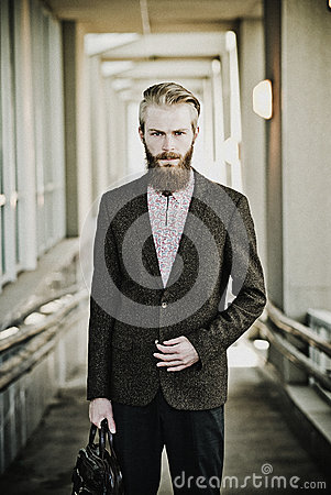 Free Young Handsome Attractive Bearded Model Man Royalty Free Stock Photos - 59427398